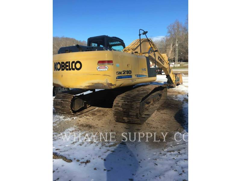 KOBELCO / KOBE STEEL LTD TRACK EXCAVATORS SK210-9 equipment  photo 4