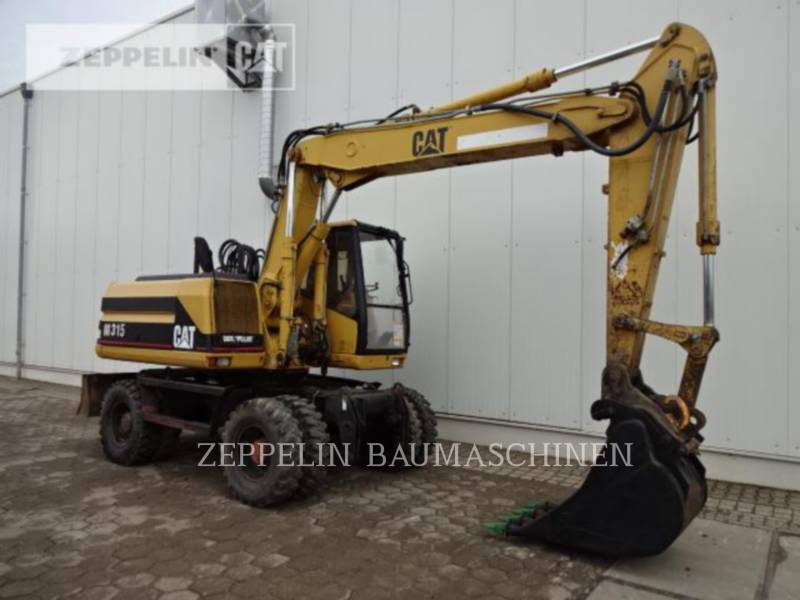 CATERPILLAR PELLES SUR PNEUS M315 equipment  photo 3