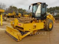 Equipment photo CATERPILLAR CP-56B VIBRATORY SINGLE DRUM PAD 1