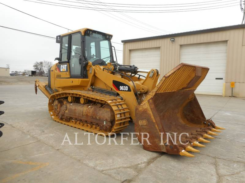 CATERPILLAR PALE CINGOLATE 963D equipment  photo 1