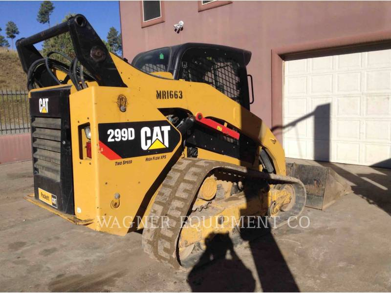 CATERPILLAR SKID STEER LOADERS 299D equipment  photo 2