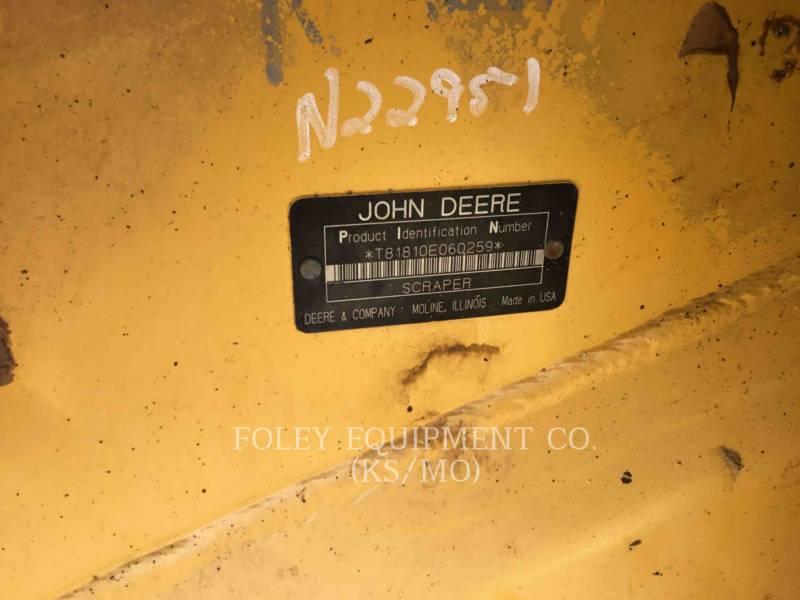 JOHN DEERE SCRAPER - PULL BEHIND 1810E equipment  photo 5