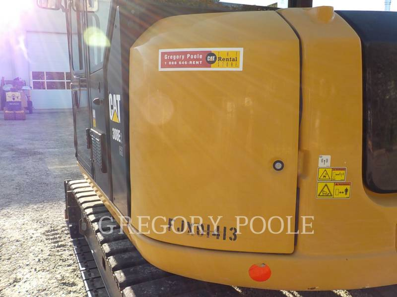 CATERPILLAR TRACK EXCAVATORS 308E2CRSB equipment  photo 9