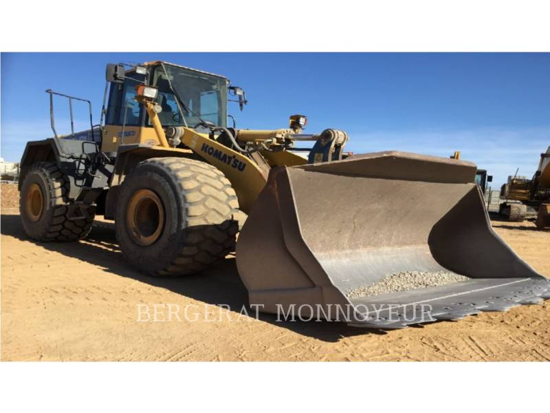 KOMATSU WHEEL LOADERS/INTEGRATED TOOLCARRIERS WA470.6 equipment  photo 4