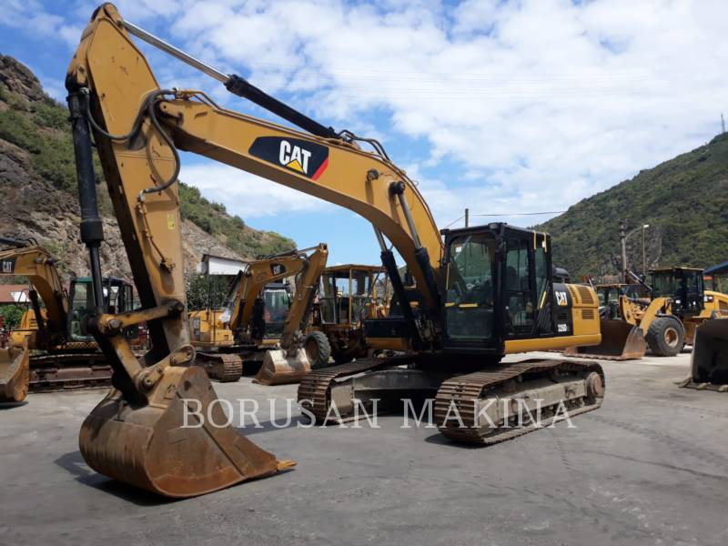 CATERPILLAR KETTEN-HYDRAULIKBAGGER 326D2L equipment  photo 2