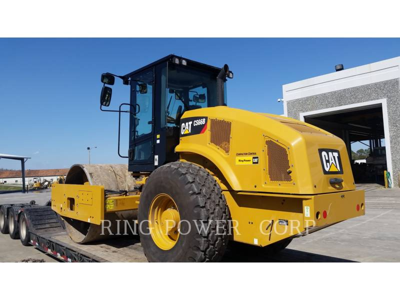 CATERPILLAR VIBRATORY DOUBLE DRUM ASPHALT CS66BCAB equipment  photo 3