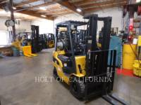 Equipment photo CATERPILLAR MITSUBISHI P3500-LE FORKLIFTS 1