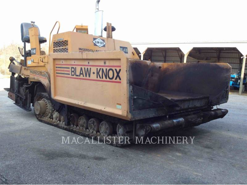 BLAW KNOX / INGERSOLL-RAND ASPHALT PAVERS PF-410 equipment  photo 2
