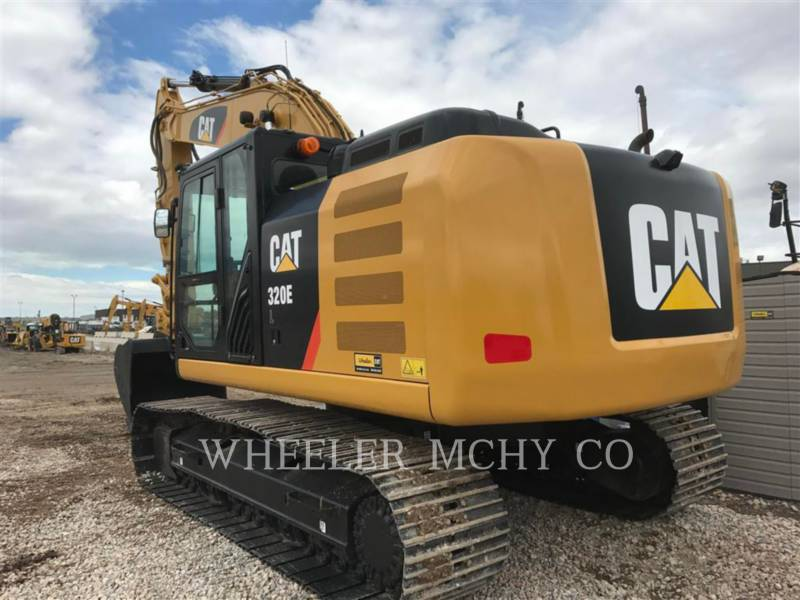 CATERPILLAR KETTEN-HYDRAULIKBAGGER 320E L CF equipment  photo 5
