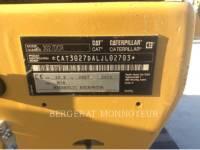 CATERPILLAR KETTEN-HYDRAULIKBAGGER 302.7D CR equipment  photo 9