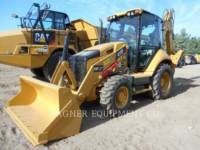 Equipment photo CATERPILLAR 416F 4WD BAGGERLADER 1