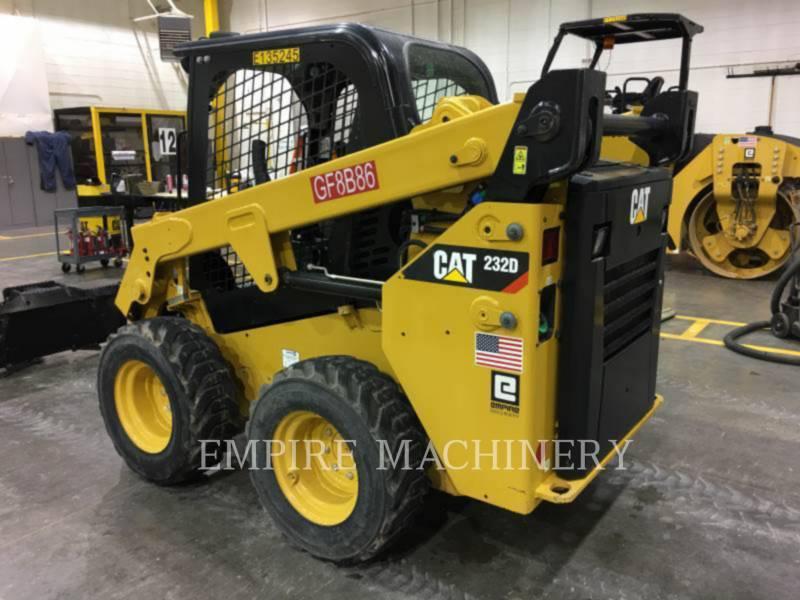 CATERPILLAR MINICARGADORAS 232D equipment  photo 4