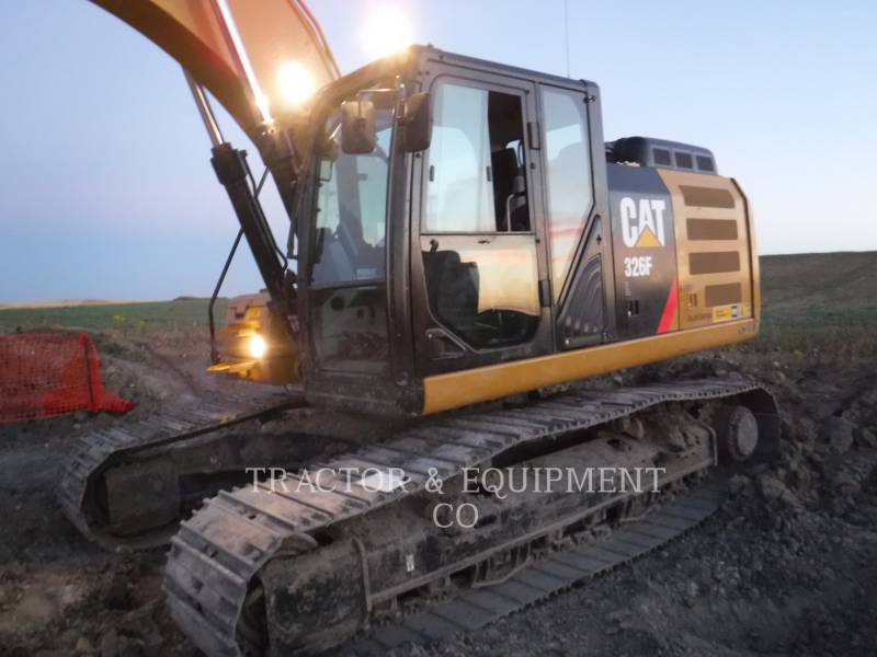 Caterpillar EXCAVATOARE PE ŞENILE 326F L equipment  photo 1