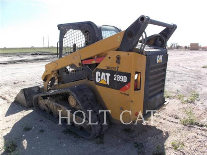 CATERPILLAR MINICARREGADEIRAS 289D equipment  photo 3