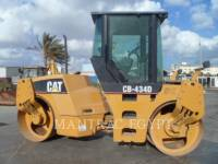 CATERPILLAR TANDEMOWY WALEC WIBRACYJNY DO ASFALTU (STAL-STAL) CB-434D equipment  photo 1