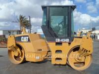 Equipment photo CATERPILLAR CB-434D TANDEMOWY WALEC WIBRACYJNY DO ASFALTU (STAL-STAL) 1