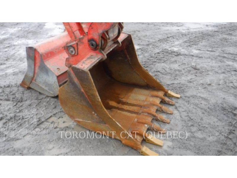 KUBOTA CORPORATION PELLES SUR CHAINES KX080-4 equipment  photo 5