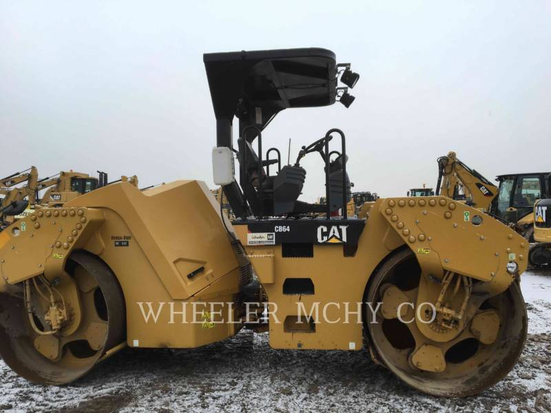 CATERPILLAR TANDEMOWY WALEC WIBRACYJNY DO ASFALTU (STAL-STAL) CB64 VV equipment  photo 3