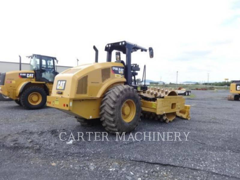 CATERPILLAR VIBRATORY SINGLE DRUM PAD CP56B CY equipment  photo 4