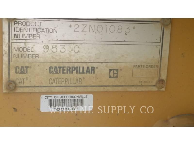 CATERPILLAR TRACK LOADERS 953C equipment  photo 9