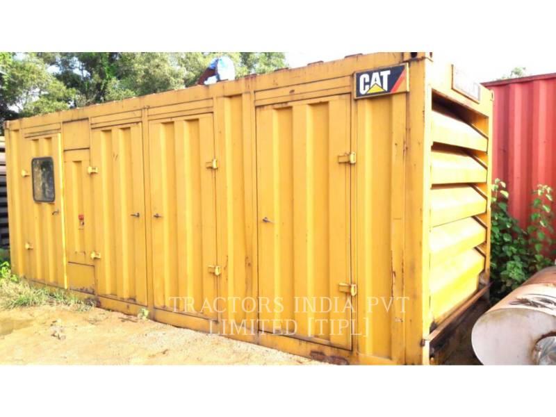 CATERPILLAR STATIONARY - DIESEL 500 KVA equipment  photo 1