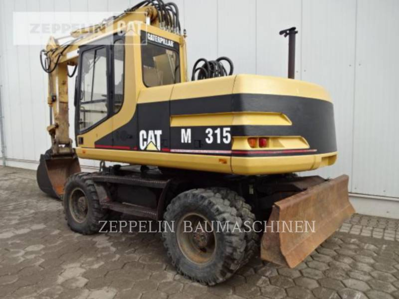 CATERPILLAR PELLES SUR PNEUS M315 equipment  photo 2