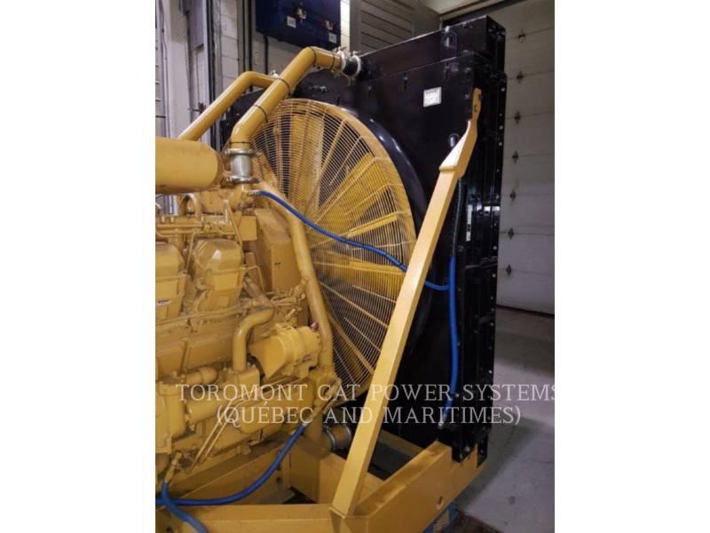 CATERPILLAR STATIONARY GENERATOR SETS 3516B,_ 2000KW,_ 600V equipment  photo 2