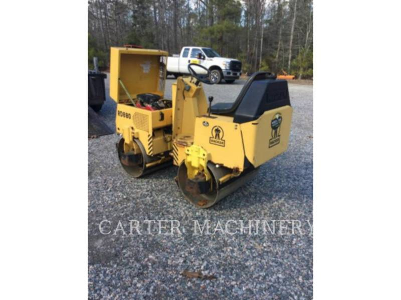 WACKER CORPORATION COMPACTADORES ROLLER equipment  photo 3