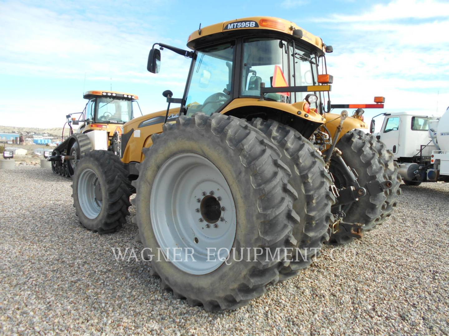 Detail photo of 2012 AGCO MT595B from Construction Equipment Guide