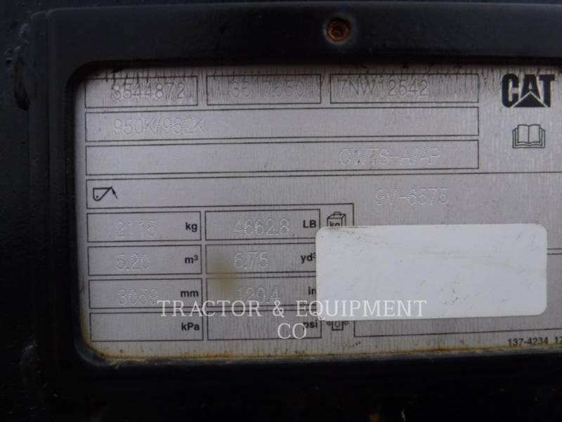 CATERPILLAR WT - BUCKET 950BKTWH equipment  photo 4