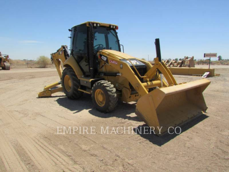 CATERPILLAR BACKHOE LOADERS 420F 4EC equipment  photo 1