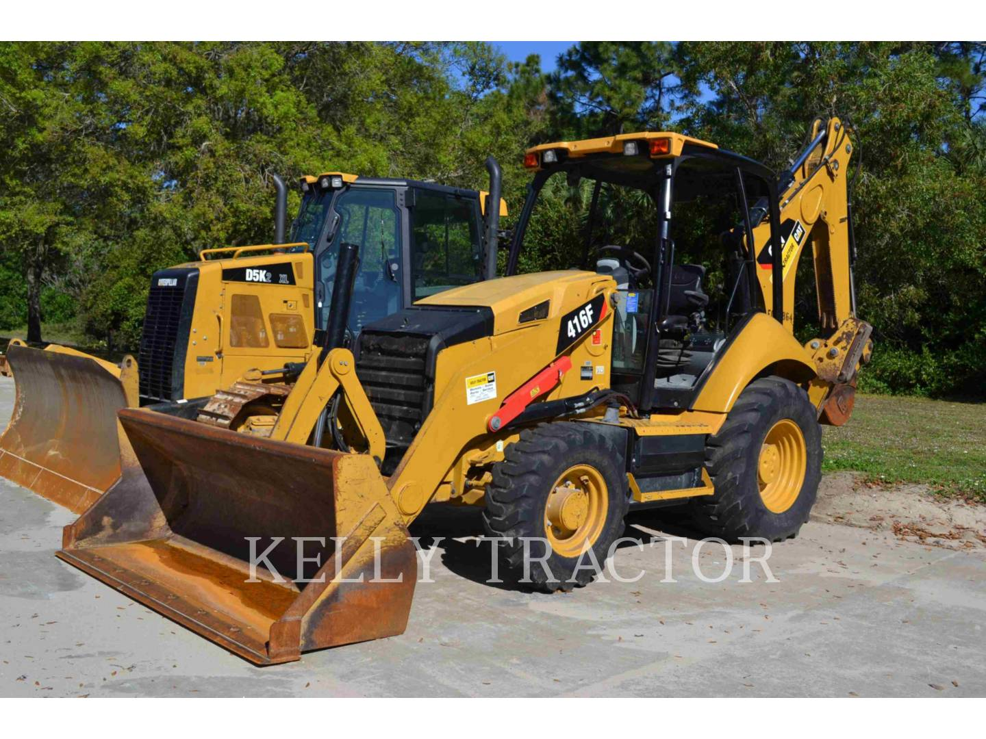 Detail photo of 2013 Caterpillar 416F from Construction Equipment Guide