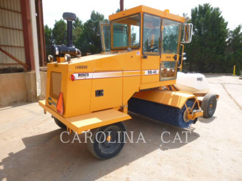 ROSCO ROAD BROOMS RB48 equipment  photo 2