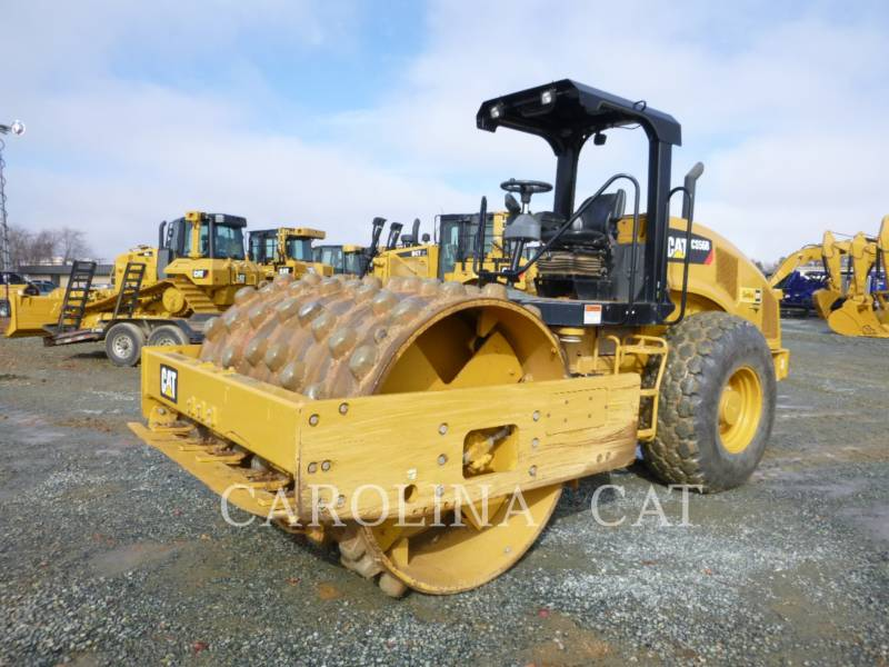 CATERPILLAR ROULEAUX TANDEMS VIBRANTS CS56B equipment  photo 2