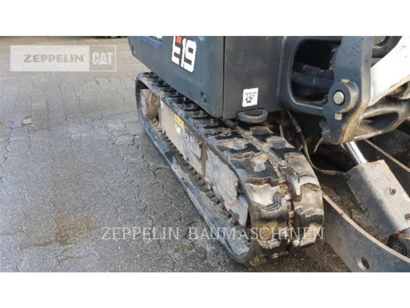 BOBCAT トラック油圧ショベル E19 equipment  photo 7