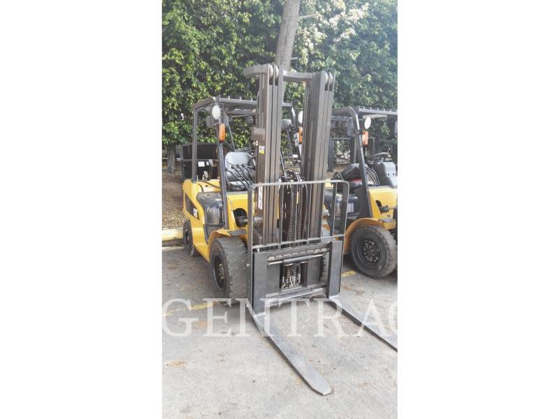 MITSUBISHI CATERPILLAR FORKLIFT CHARIOTS À FOURCHE GP35NM equipment  photo 3
