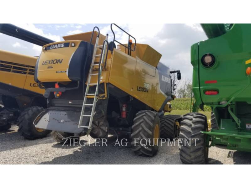 LEXION COMBINE COMBINADOS 760TT equipment  photo 4