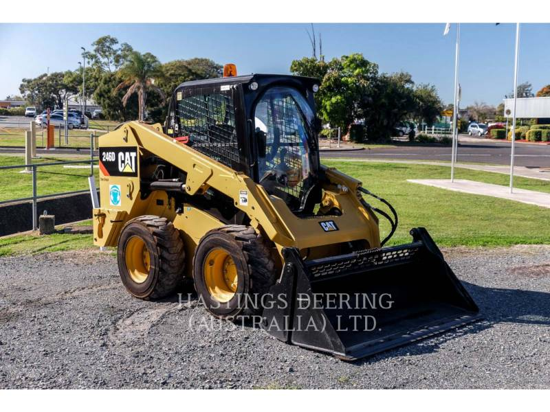 CATERPILLAR SKID STEER LOADERS 246DLRC equipment  photo 1