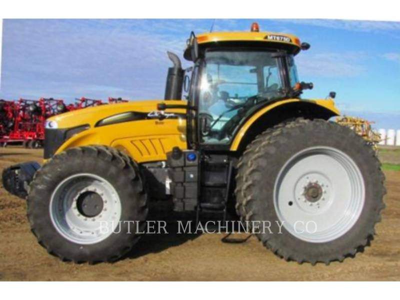 AGCO-CHALLENGER LANDWIRTSCHAFTSTRAKTOREN MT675D equipment  photo 7