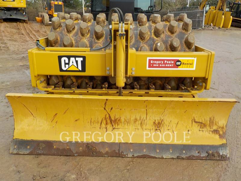 CATERPILLAR VIBRATORY SINGLE DRUM PAD CP-56B equipment  photo 8