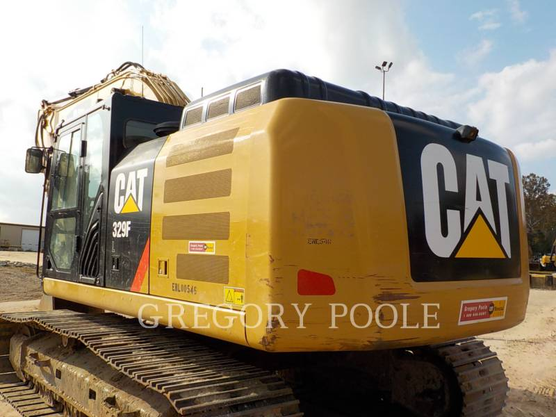 CATERPILLAR KETTEN-HYDRAULIKBAGGER 329FL equipment  photo 8