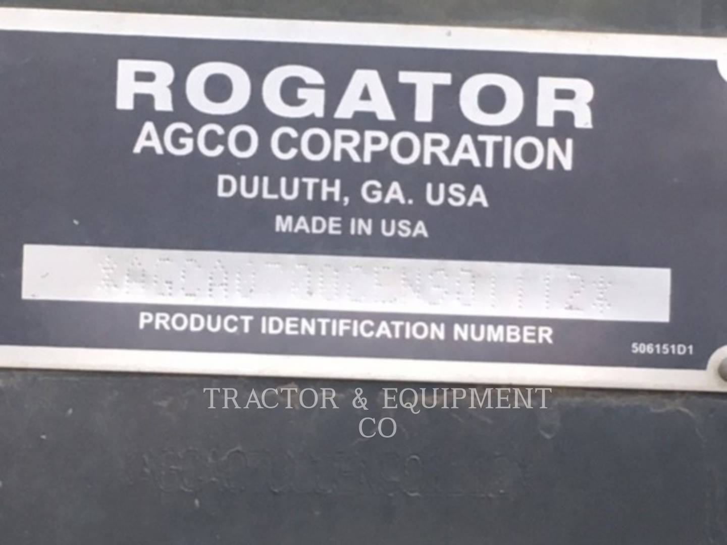 Detail photo of 2014 Ag-Chem RG700 from Construction Equipment Guide