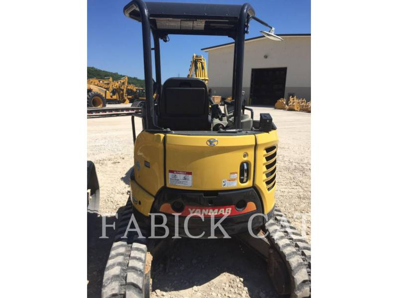 YANMAR TRACK EXCAVATORS VIO35 equipment  photo 3