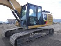 Equipment photo CATERPILLAR 326F L KETTEN-HYDRAULIKBAGGER 1
