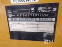 CATERPILLAR BACKHOE LOADERS 420FST equipment  photo 15