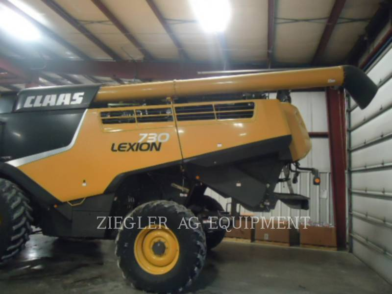 LEXION COMBINE COMBINADOS 730 equipment  photo 3
