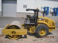 CATERPILLAR COMPATTATORE A SINGOLO TAMBURO VIBRANTE LISCIO CS54BLRC equipment  photo 4