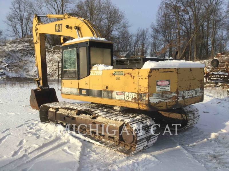 CATERPILLAR KETTEN-HYDRAULIKBAGGER E200BL equipment  photo 4