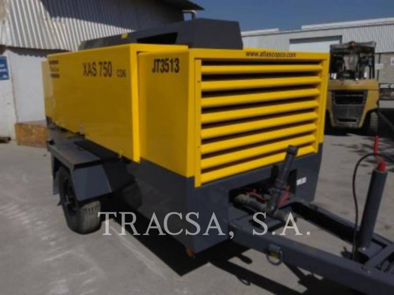 ATLAS-COPCO COMPRESOR DE AIRE XAS750CD equipment  photo 2