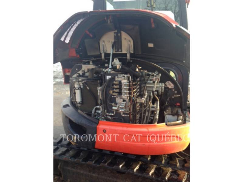 KUBOTA CORPORATION EXCAVADORAS DE CADENAS U55 equipment  photo 12